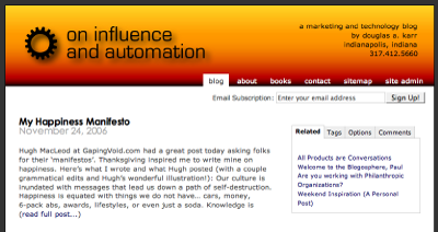 On Influence and Automation