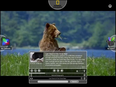 National Geographic on Joost