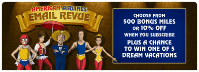 American Airlines Email Revue