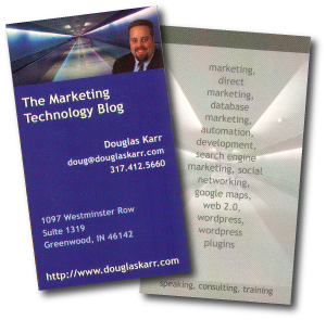 Martech Zone Business Cards