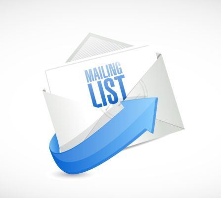 email mailing list