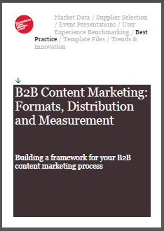 Econsultancy Releases B2B Content Marketing Guide