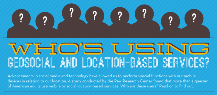 geosocial location based services