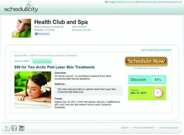 schedulicity deal promoter