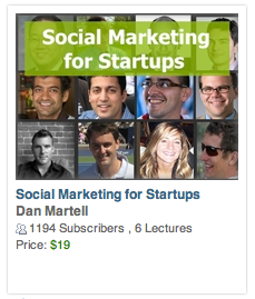 social marketing startups