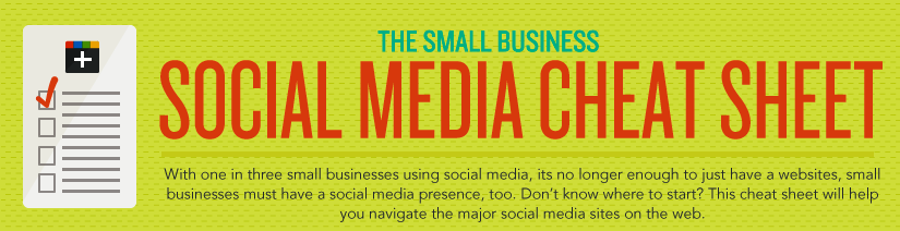 Small Business Social Cheat Sheet