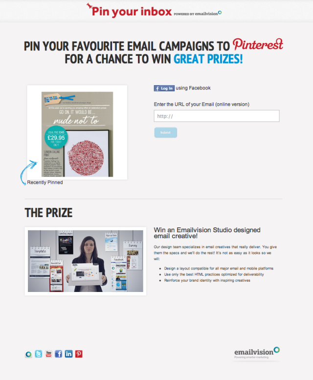 pin your inbox page