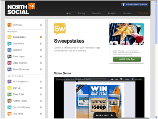Enrich Your Facebook Page with North Social | Marketing Tech Blog