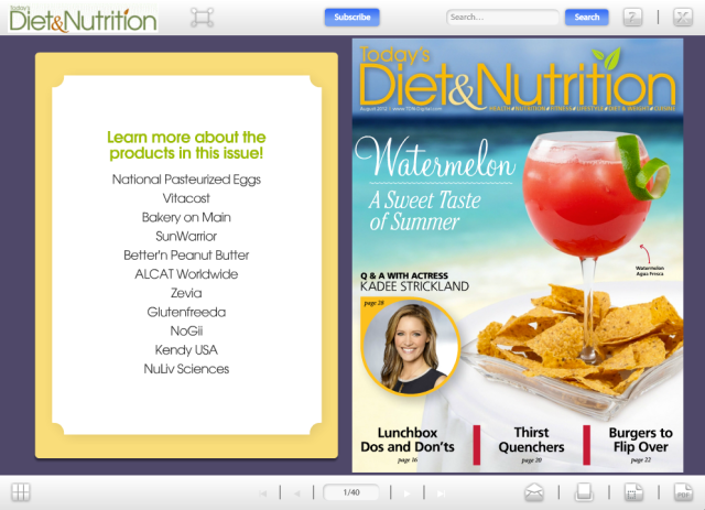 today diet nutrition