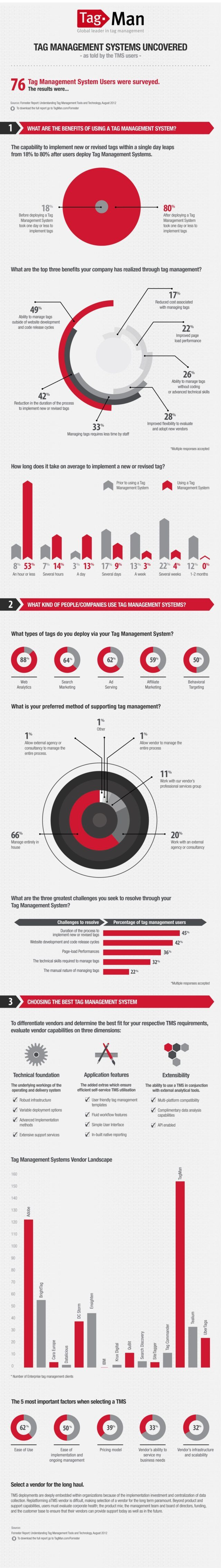 Forrester TagManagement Infographic