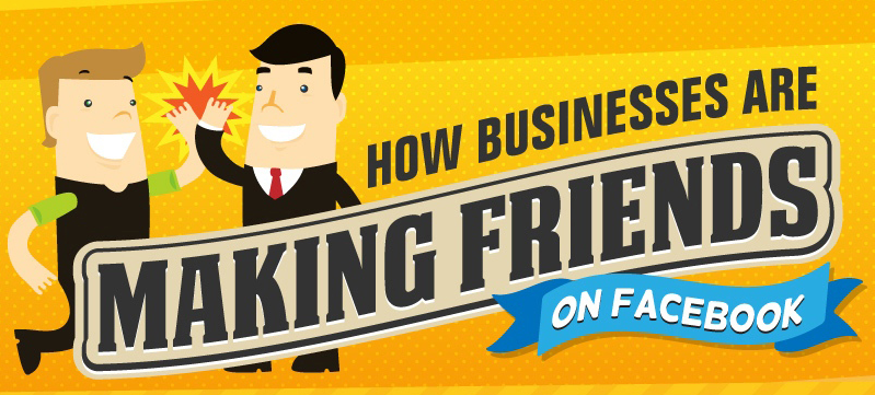 How Businesses are Making Friends on Facebook