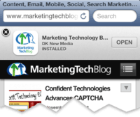 Smart Banner Marketing Technology Blog