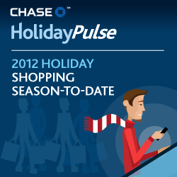 Chase 2012 Holiday Shopping Stats to Date
