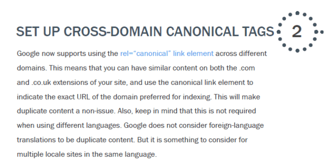 Cross Domain Canonical
