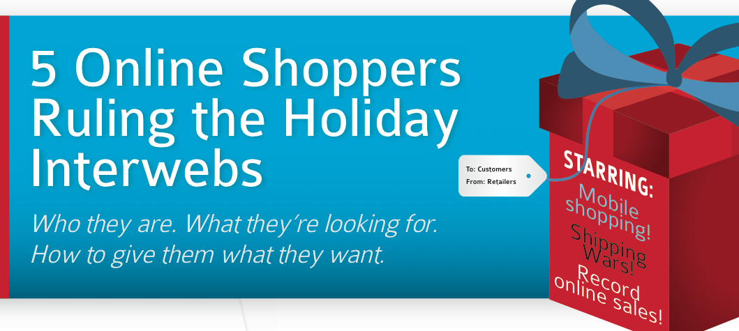 5 Online Shoppers Ruling the Holiday