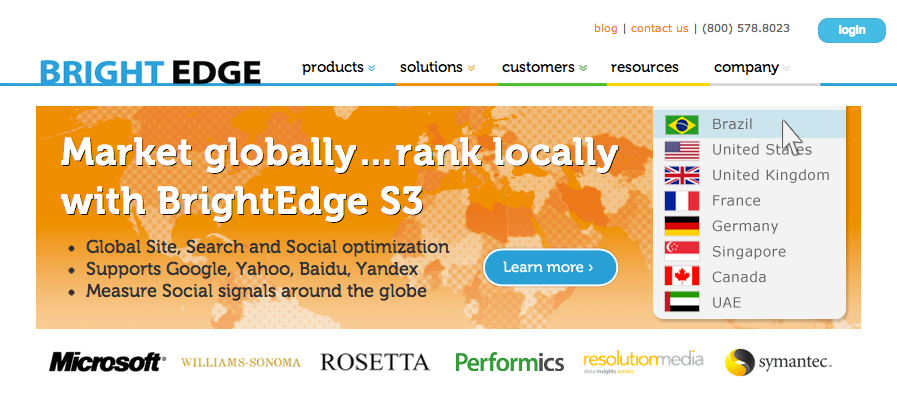 BrightEdge SEO