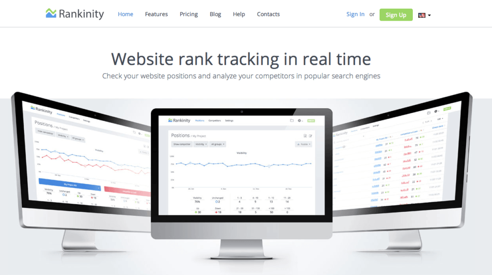 Real-time SEO Rankings