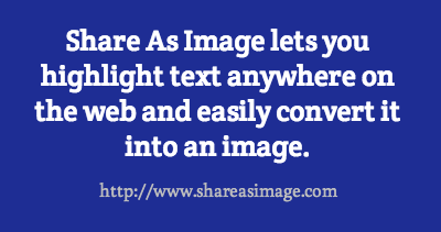 share as image lets you highlight text anywhere on the 250