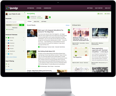 Spundge: Collaborative Content Curation for Teams