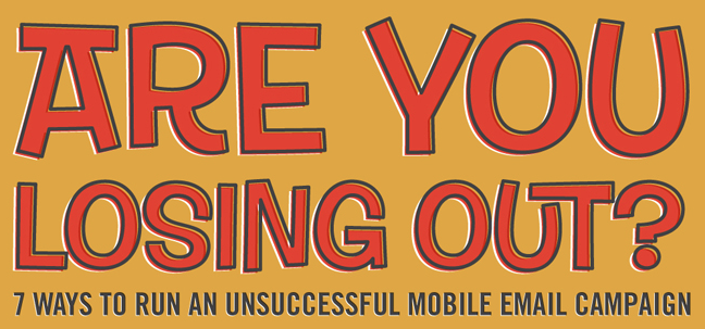 mobile email campaign