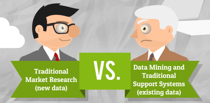 data mining traditional support systems