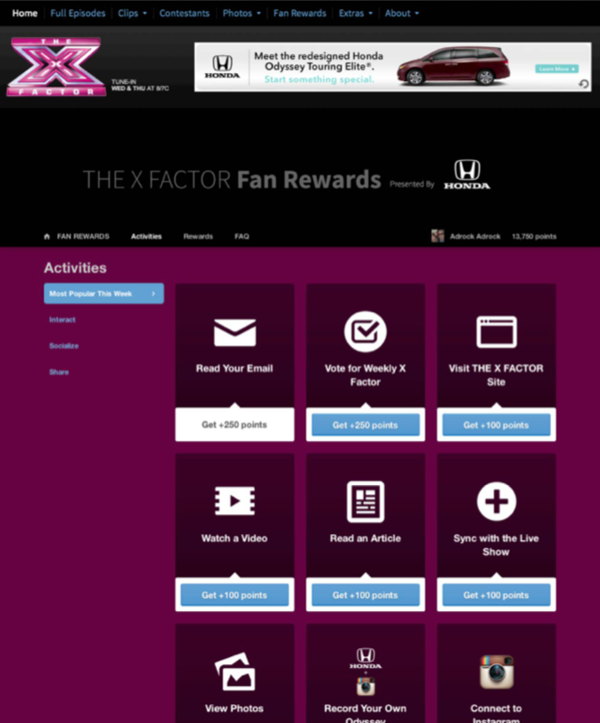 crowdtwist xfactor gamification