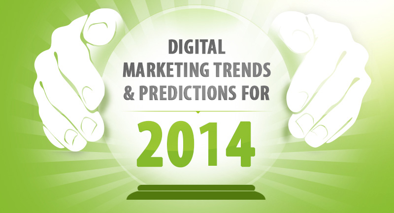 Digital Marketing Trends & Predictions for 2014