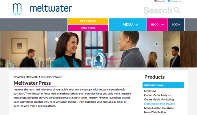 meltwater-press