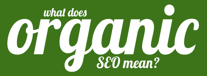 what is organic seo