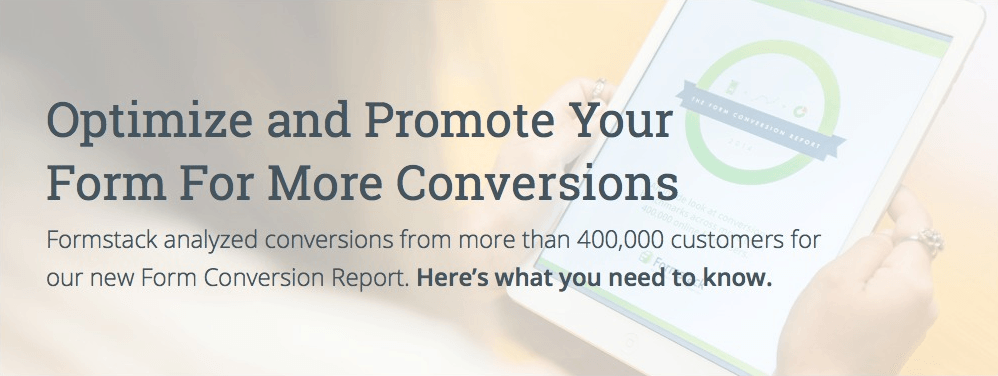 2014 Form Conversions Report: Benchmark and Improve Your Form Conversions