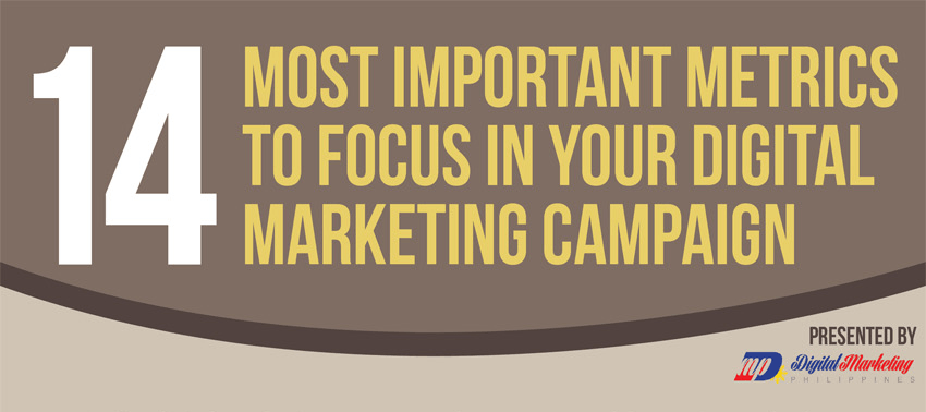 14 Metrics to Focus on with Digital Marketing Campaigns