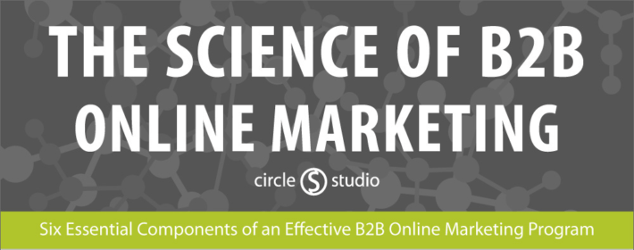 b2b online marketing infographic