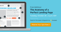 Anatomy of a Landing Page Webinar