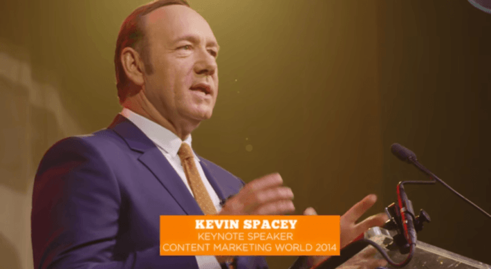kevin spacey content marketing mundua 2014