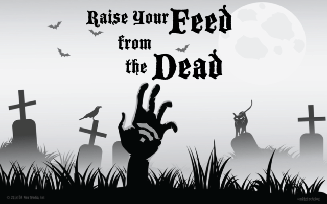 raise your feed