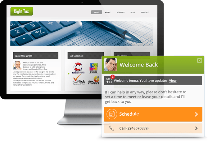 vCita: Appointments, Payments, and Contact Portal for Small Business Sites