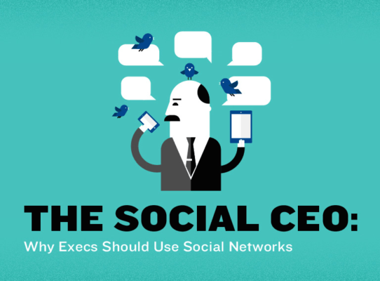 Reasons for CEOs to be Social
