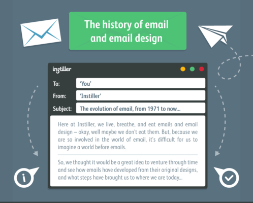 history email design