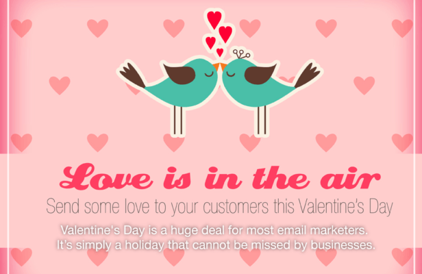 valentines day marketing
