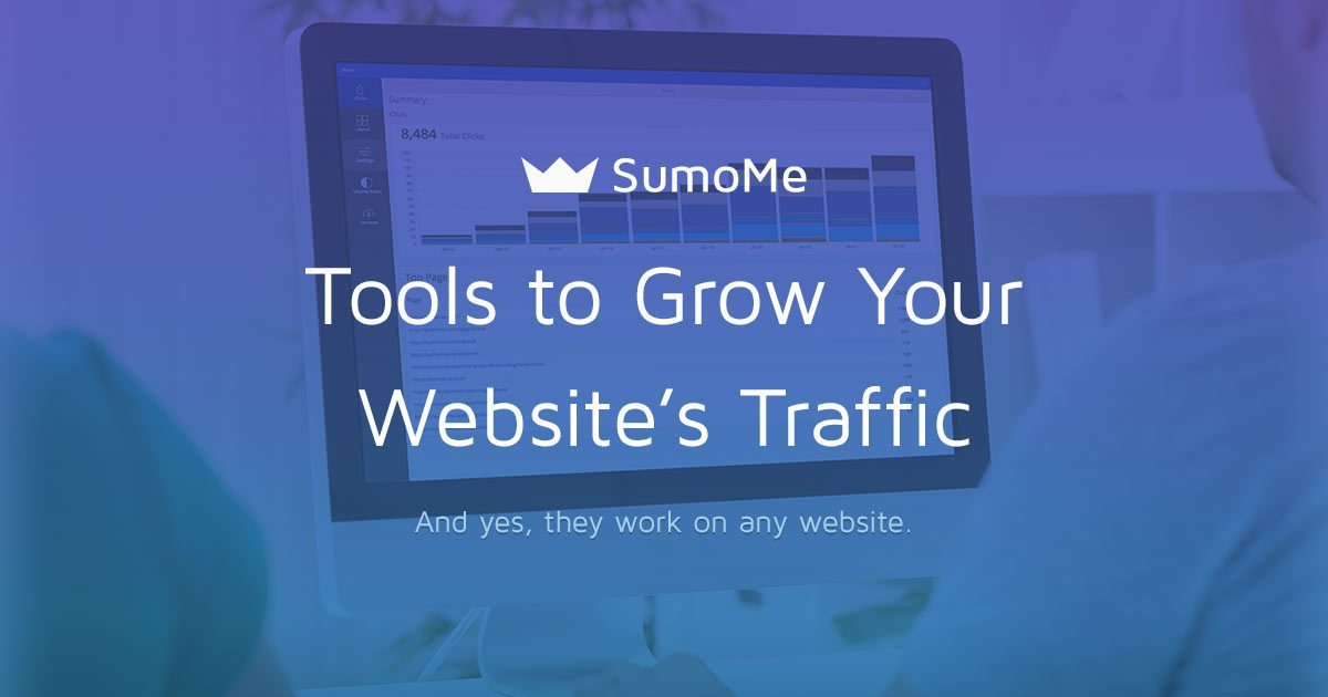 SumoMe: Lead Generation for Your Site… with Great Support