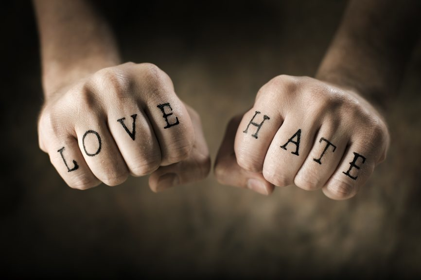 Hug Your Haters? Maybe It's Love Your Lovers!