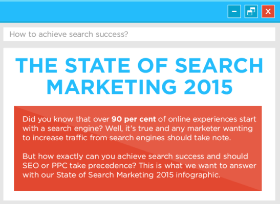 state search marketing infographic 2015