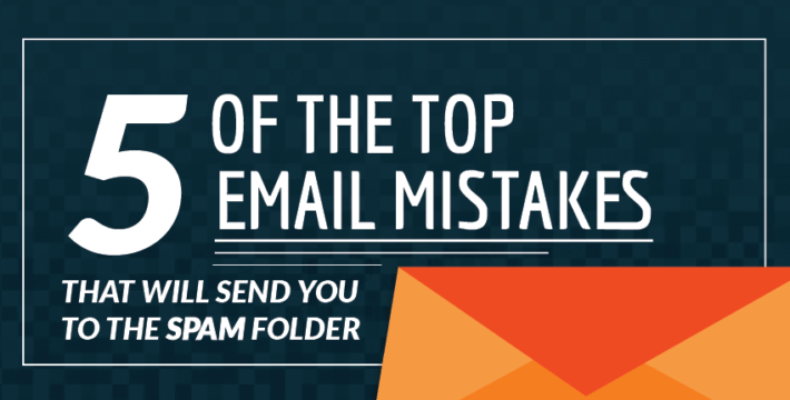 email spam folder mistakes