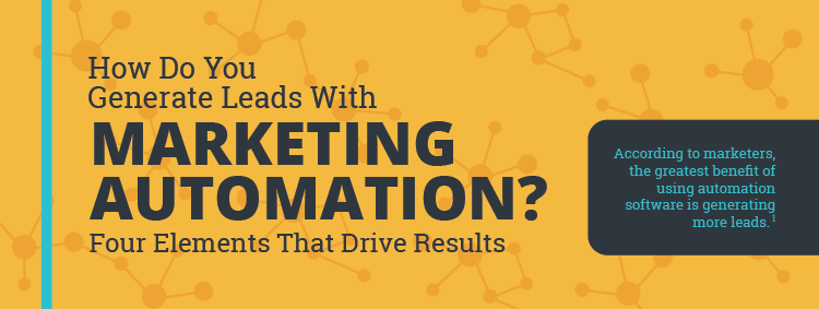 4 Elements to Drive Lead Generation with Marketing Automation