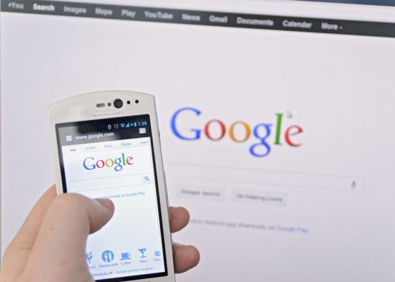 mobile search responsive