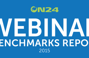 Webinar Benchmarks for 2015 from ON24