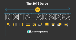 2015 Standard Ad Sizes for Online Advertising