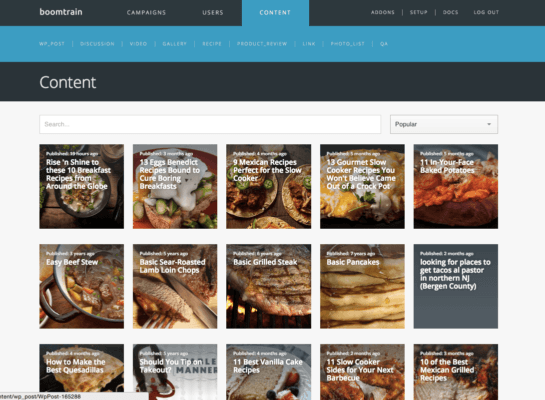 DIve Deep into EVERY piece of Content