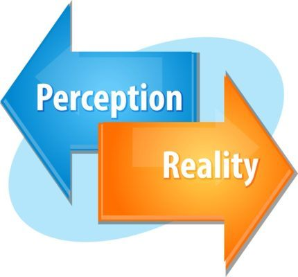 sales marketing perception reality