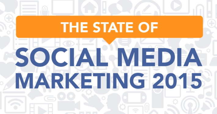 state of social media marketing infographic